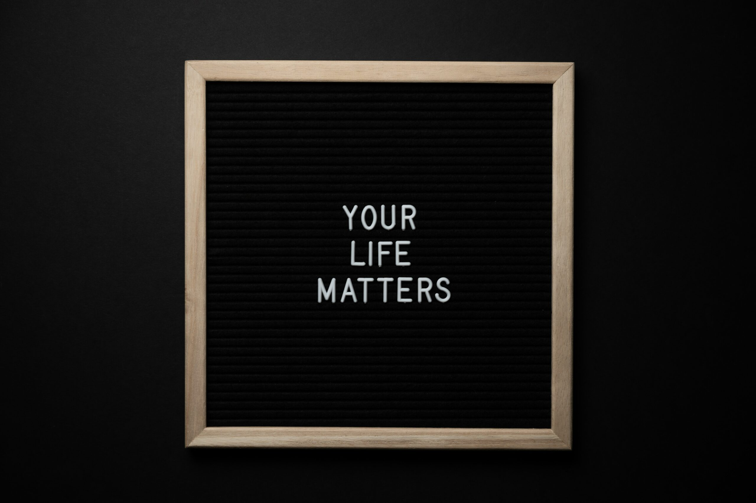Your Life Matters Message